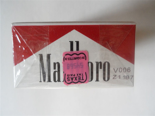 Fresh Marlboro Red 100s Cigarettes with Texas Stamp 20 Cartons